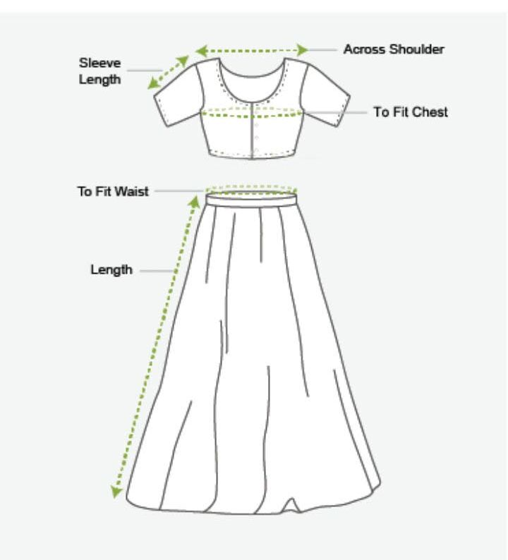 Size Options (Top & Skirt )
